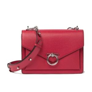 New Rebecca Minkoff Red Medium Jean Crossbody Bag